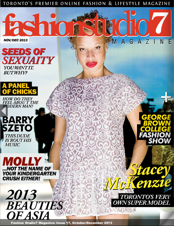 COVER STORY Fashion Studio7 Magazine, Issue 17: http://www.fashionstudio7.com/magazine/issue17/