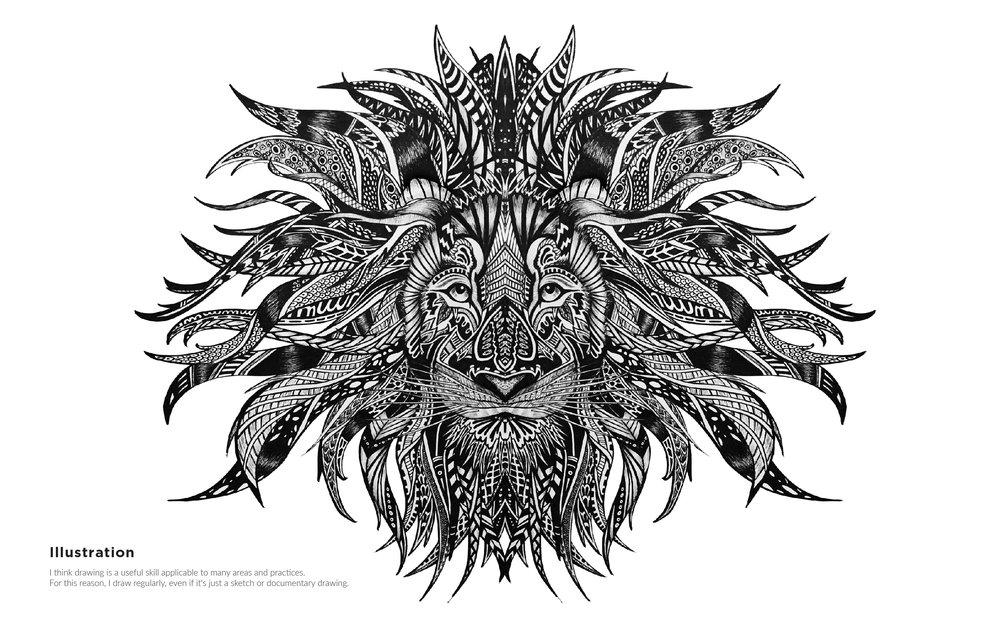 MelissaMorganPortfolio_Lion Illustration.jpg
