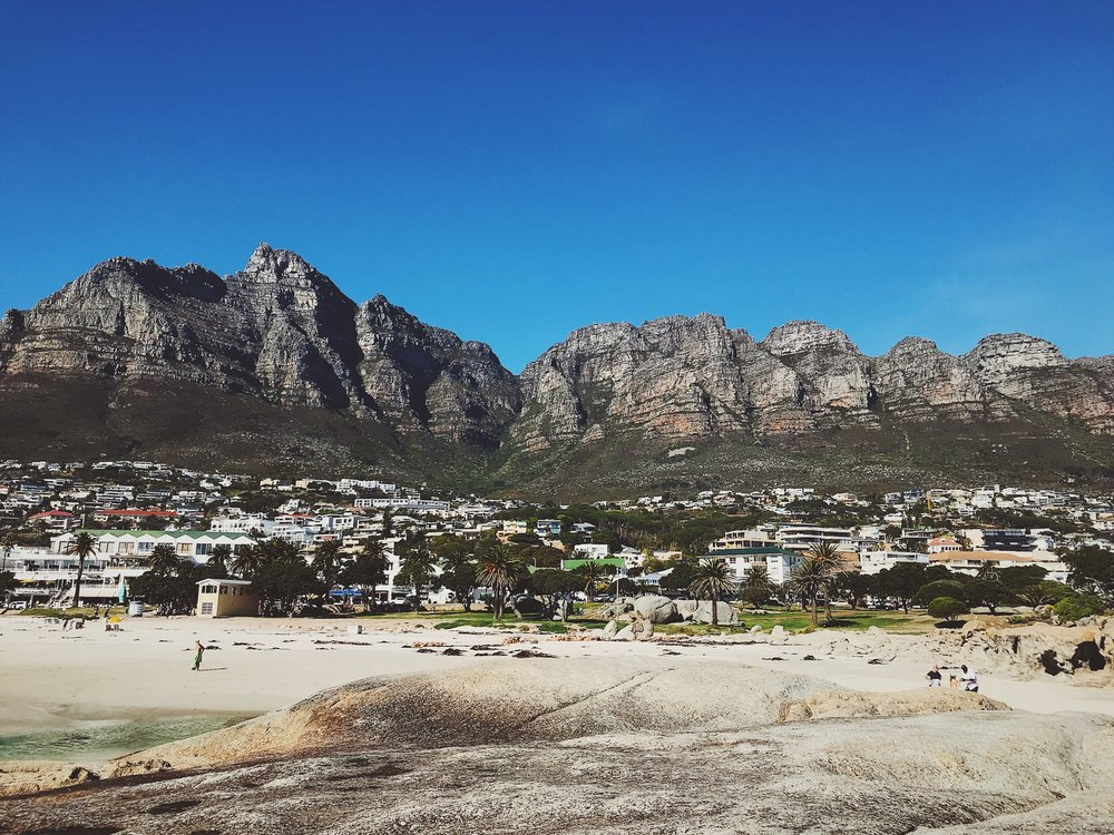 Oooo Table Mountain, your backside looking good, girl.