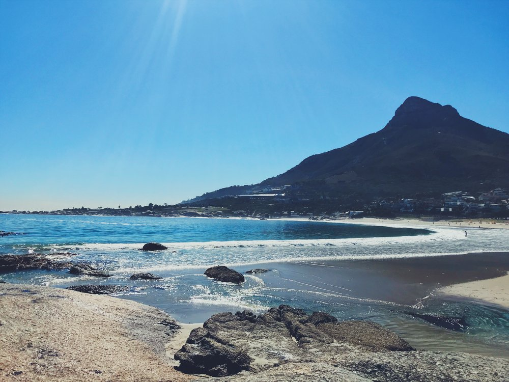 camps bay beach view cape town