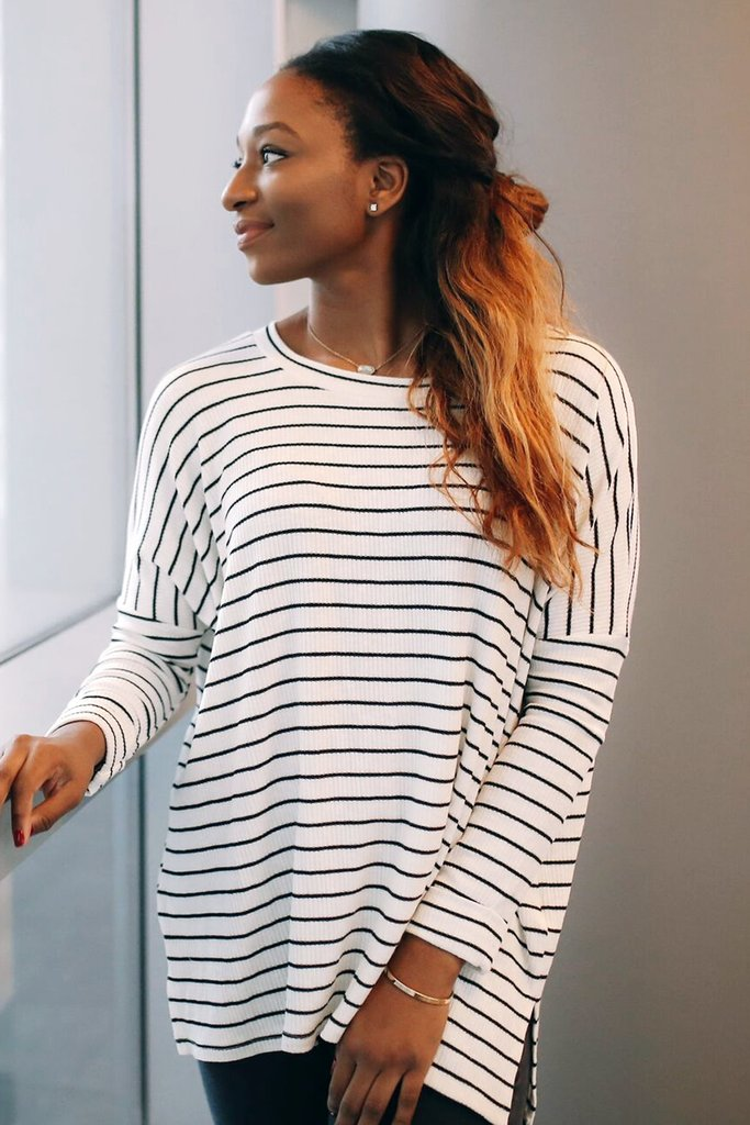 Yeah, I'm a sucker for stripes. (click to shop!) Photo from NOVAA