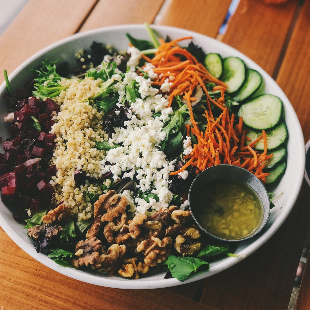 eating for pregnancy, quinoa, beets, carrots, walnuts omega 3s