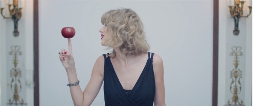 1. Taylor can spin an apple on her finger. Try that Lebron.