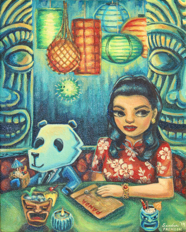 """Panda and the Informant"" by Sandra Fremgen"