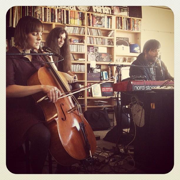 @ NPR Tiny Desk Concert