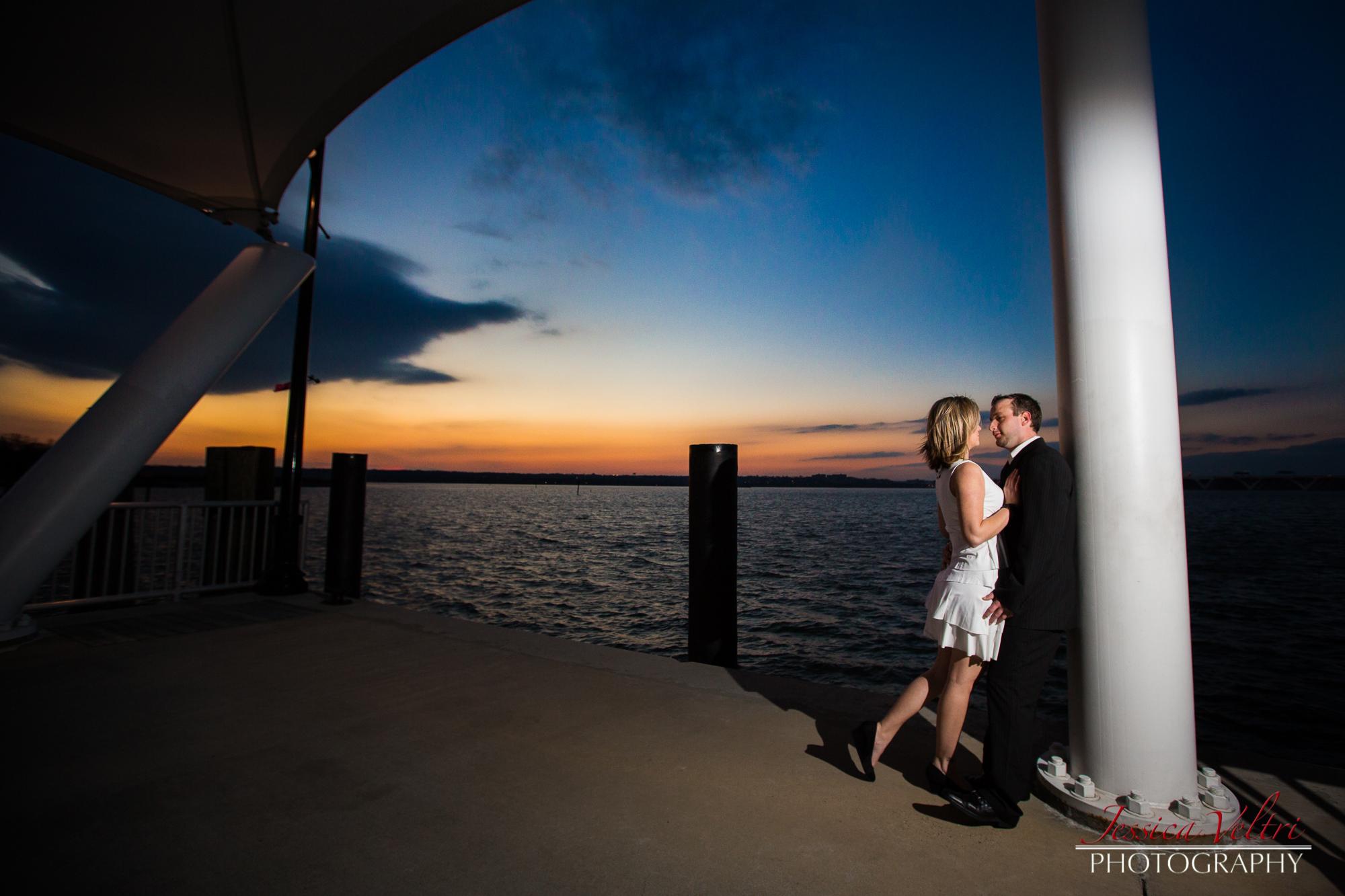 National Harbor Engagement - Washington D.C. Photographer Jessica Veltri