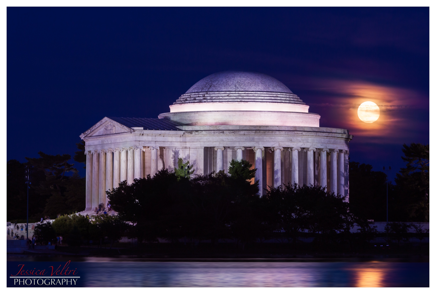 Super Moon in D.C. 2013 Jessica Veltri Photography