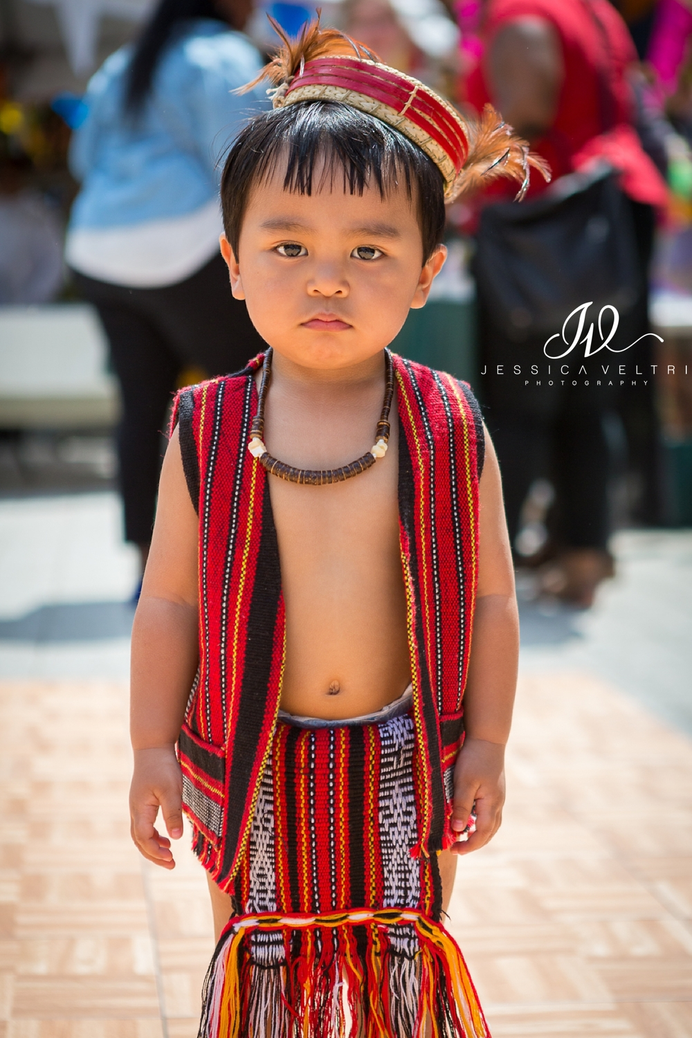 Adorable little boy at the Philippines Embassy