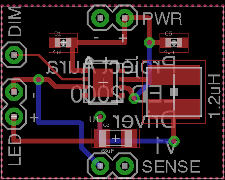 Designing a breakout board for our LED driver