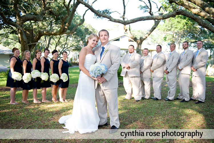 Beaufort NC wedding | Cynthia Rose Photography