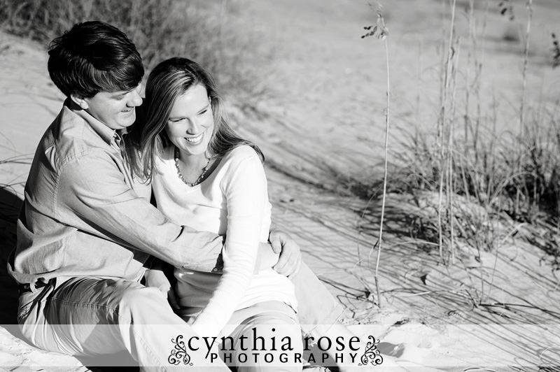 Atlantic Beach NC engagement session | Cynthia Rose Photography