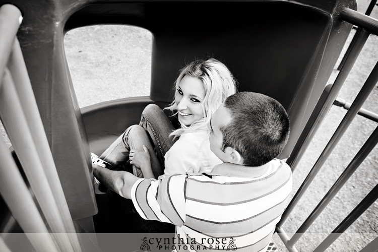 Playground engagement session | Cynthia Rose Photography