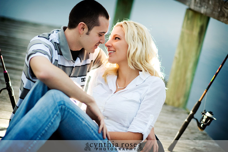 Cherry Point engagement session | Cynthia Rose Photography