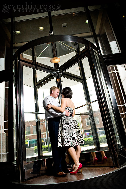 Cardinal Club Raleigh engagement session