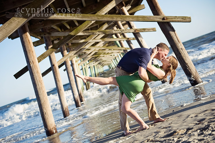 Emerald Isle engagement photos