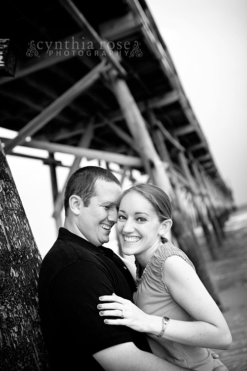 Sunset Beach NC engagement photographer