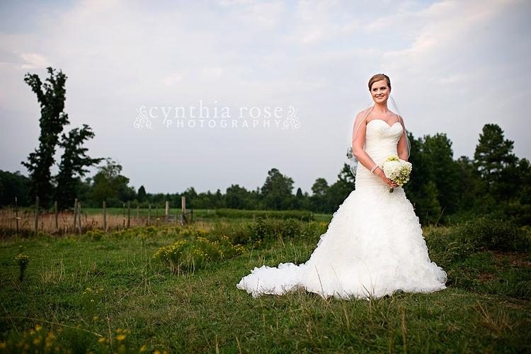 Broadway NC bridal portraits