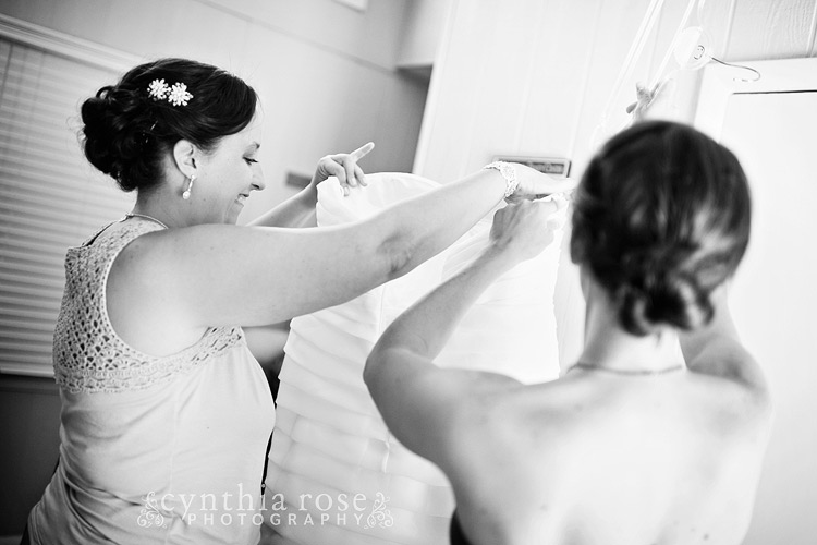 Salter Path wedding photographer