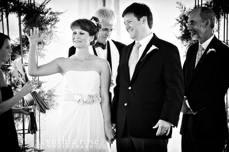 Dunes Club Atlantic Beach wedding