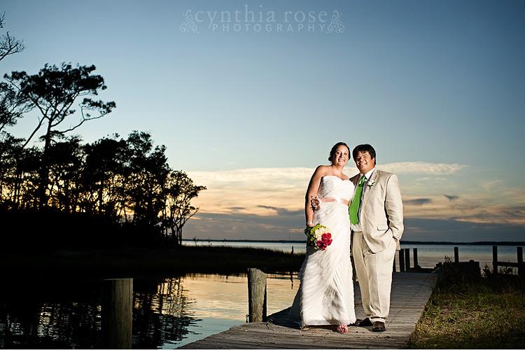 Salter Path NC wedding photographer