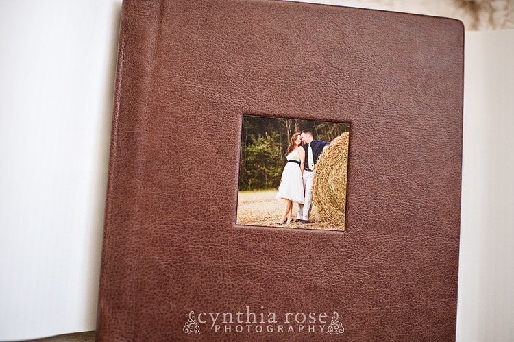 Cynthia Rose Photography engagement guestbook
