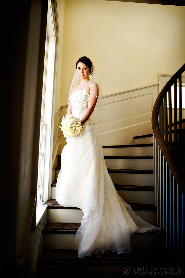 New Bern NC bridal portrait