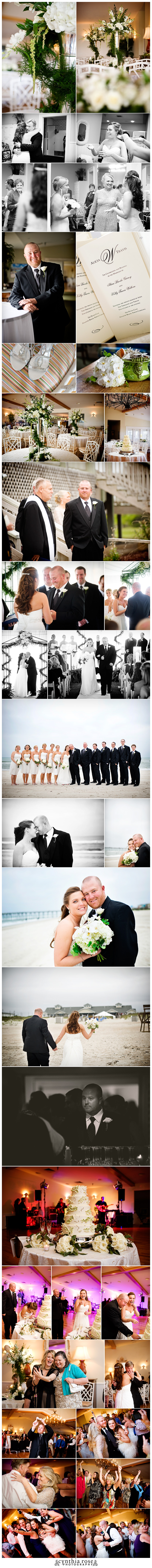 Dunes Club Atlantic Beach NC wedding photographer