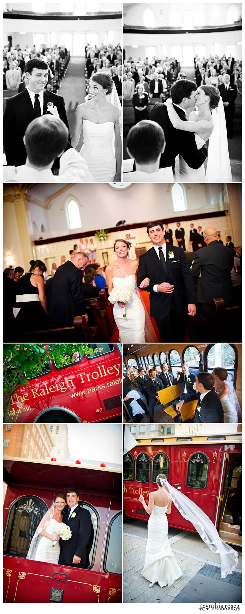 Long View Center Raleigh wedding