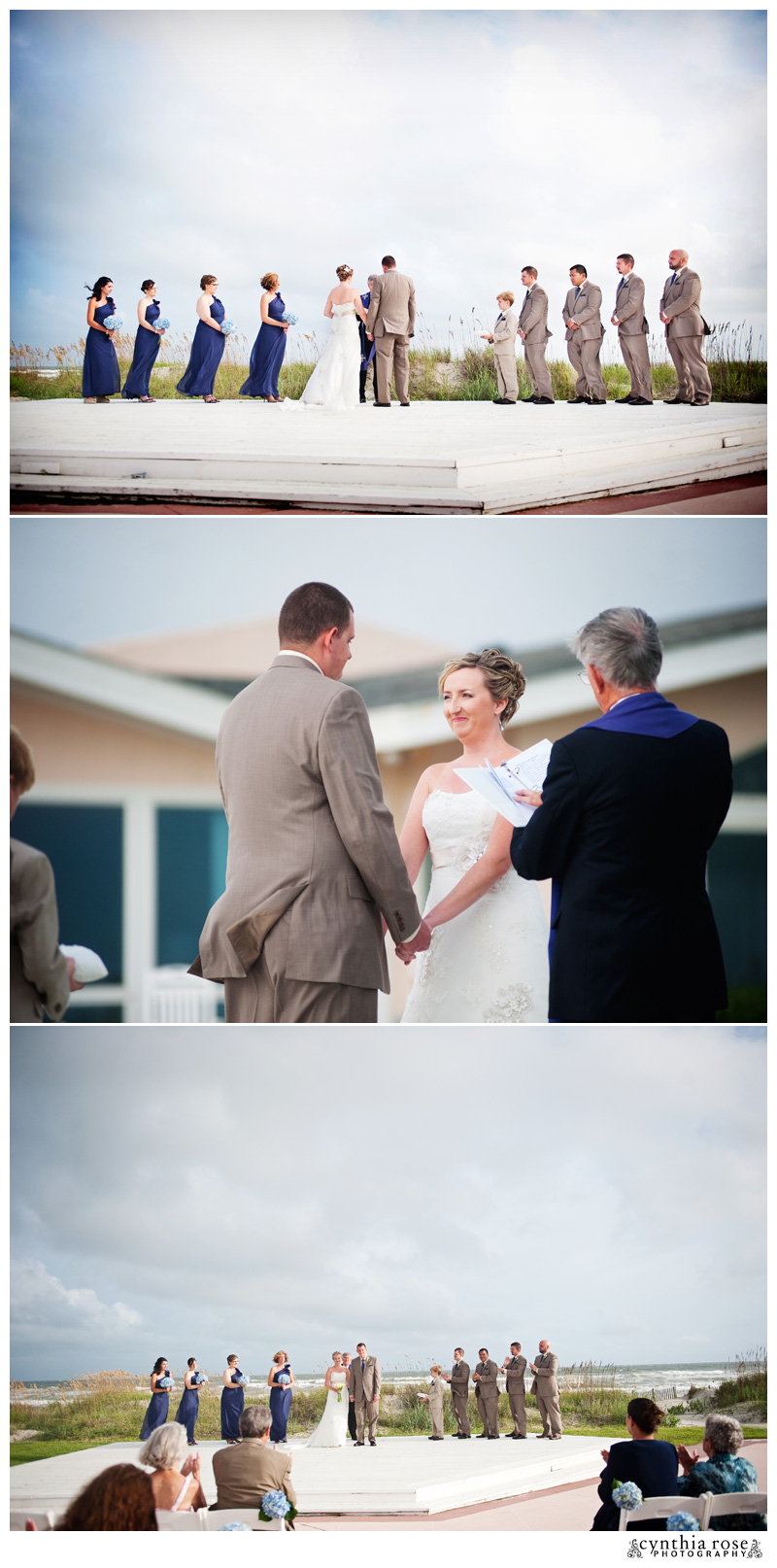 Coral Bay Club wedding photographer