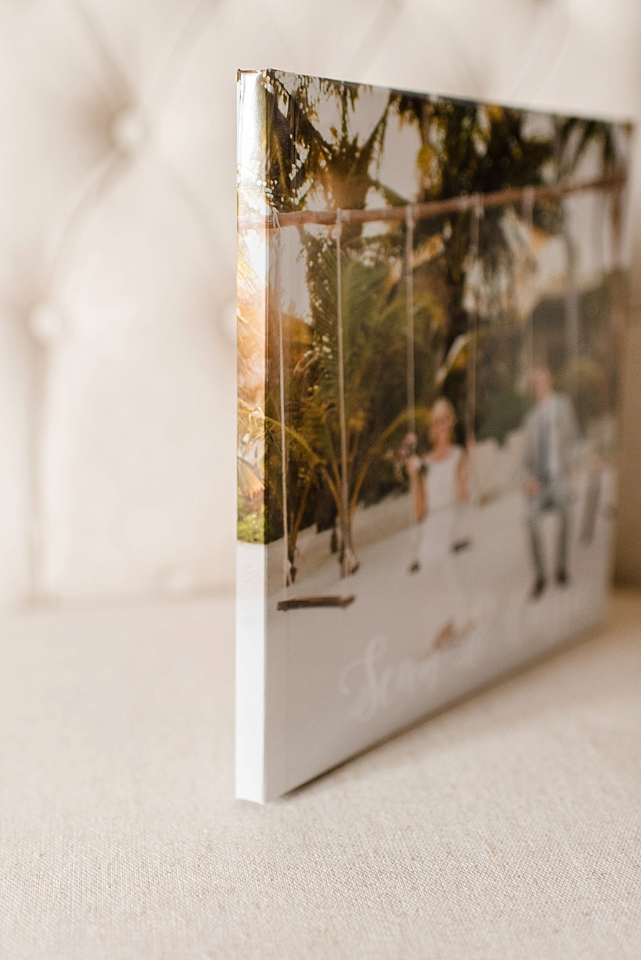 The thinner spine and press-printing put the parent album at the perfect price point for gifting to parents. Professional printing and custom design means there are no sacrifices in quality.