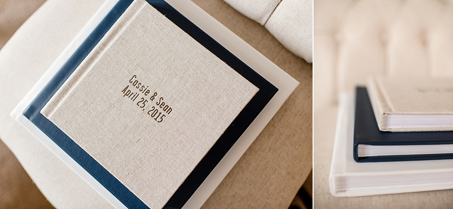Guestbooks are offered in the same variety of cover options as our Custom Wedding Albums. Pictured above is an 8x8 20-sided guestbook, sitting on top of the 10x10 30-sided and 12x12 30-sided wedding album for size reference.