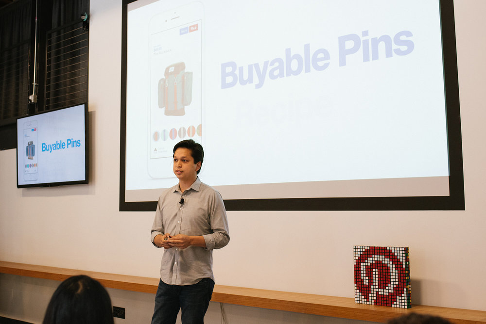 CEO Ben Silbermann speaking