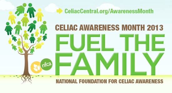May 2013 National Celiac Disease Awareness Month