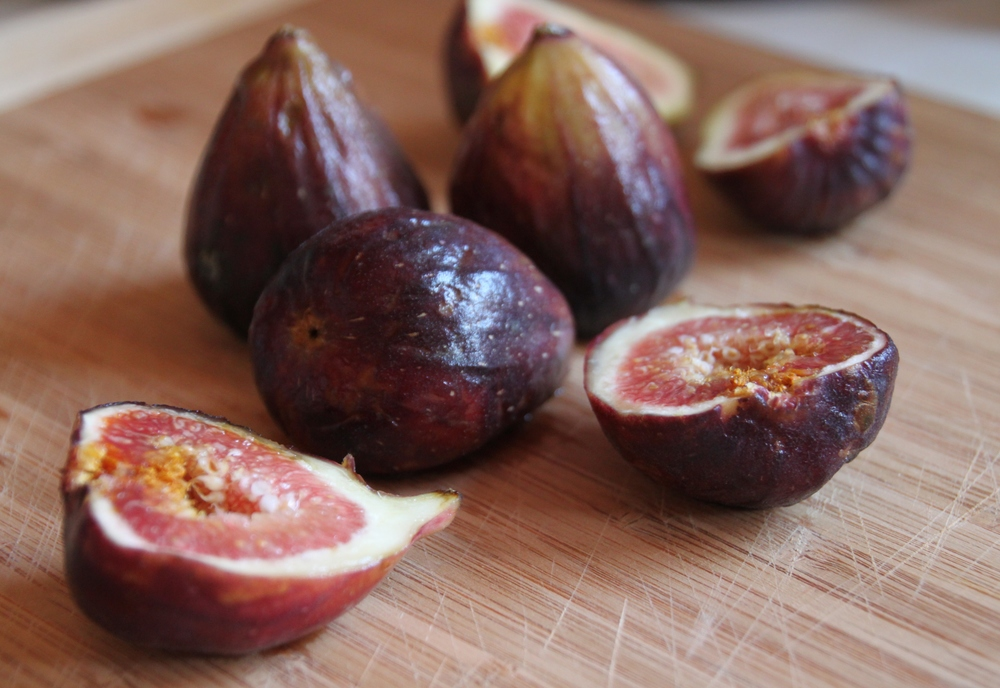 Bowl of Fresh Figs