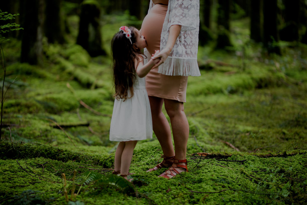 becoming a big sister - Maternity