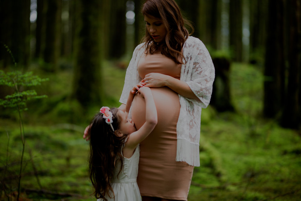 Nadine Hansen Photography - Golden Ears Maternity Shoot