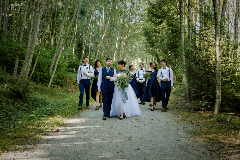 Alyx & Kristian - Intimate Backyard Wedding
