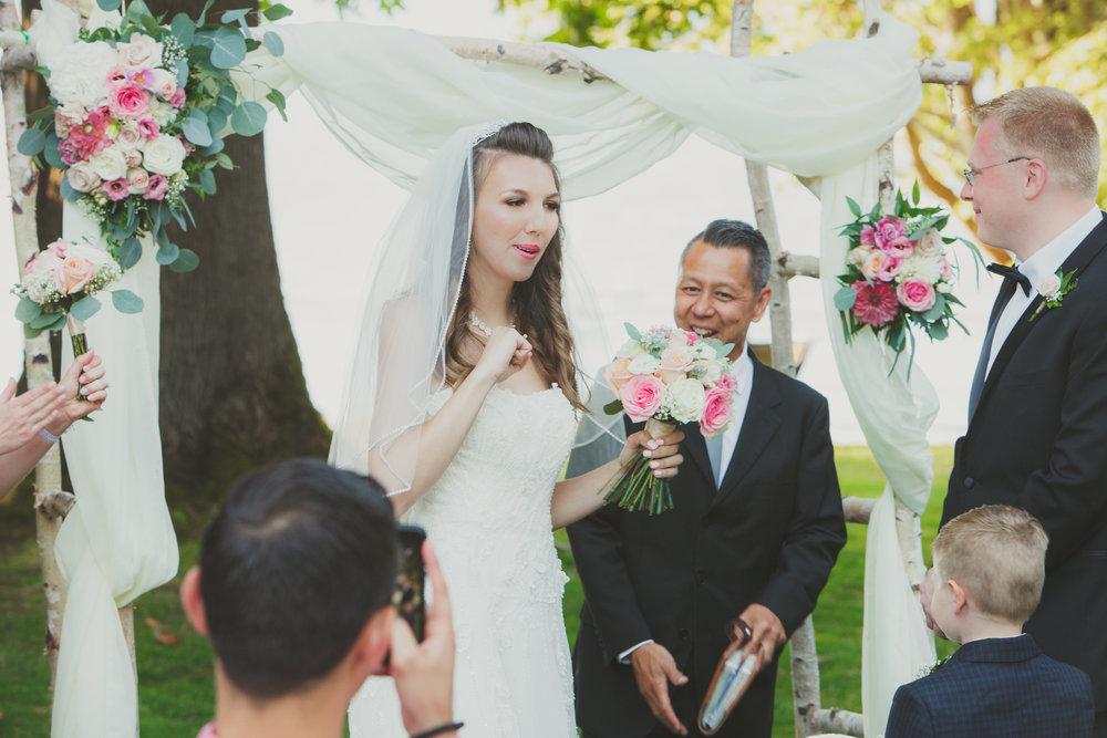 NadineHansenPhotography. Vancouver Brockhouse Wedding