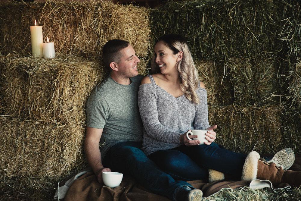 Hopcott-Farm-Cranberry-Fields-Rustic-Engagment-Shoot