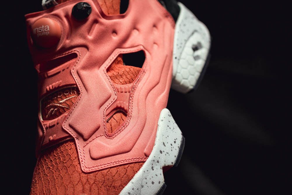 END. x Reebok Insta Pump Fury Pink Salmon
