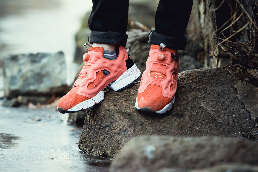 END x Reebok Insta Pump Fury Pink Salmon