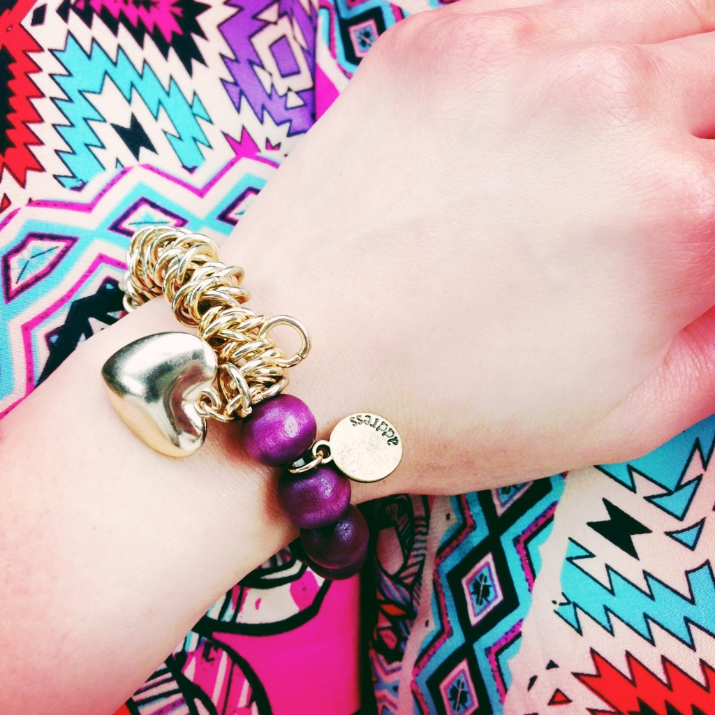Bracelet is much love from Ipoh, Malaysia. Pants: Anthropologie