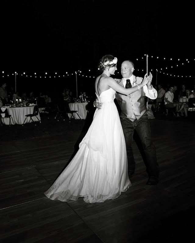 Happy Birthday Dad.. here is to many more dances together