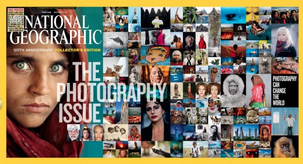 Cover of National Geographic The Photography Issue.