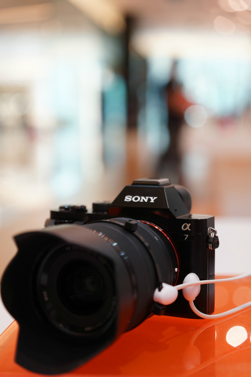 Front of Sony a7