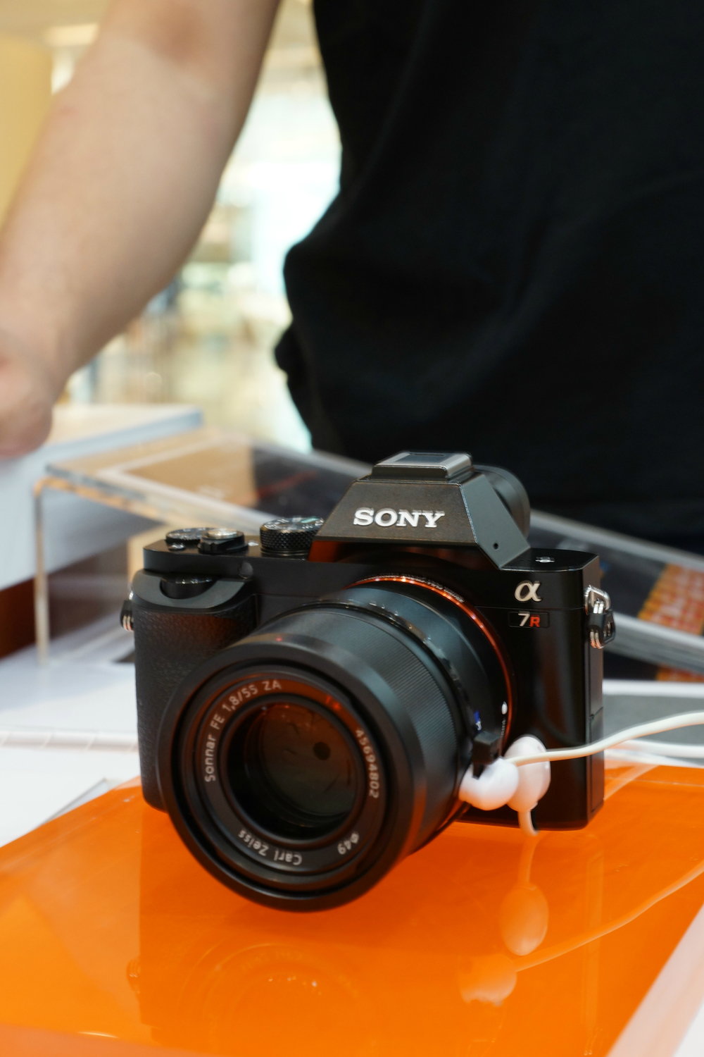 Front of Sony a7r