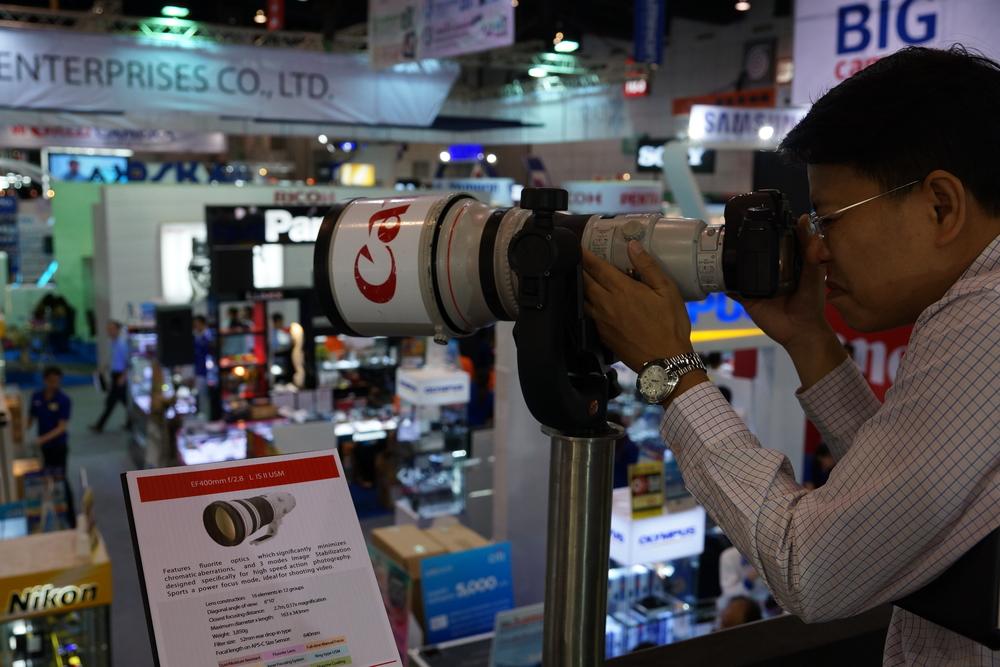 Heavy super duty Canon lenses