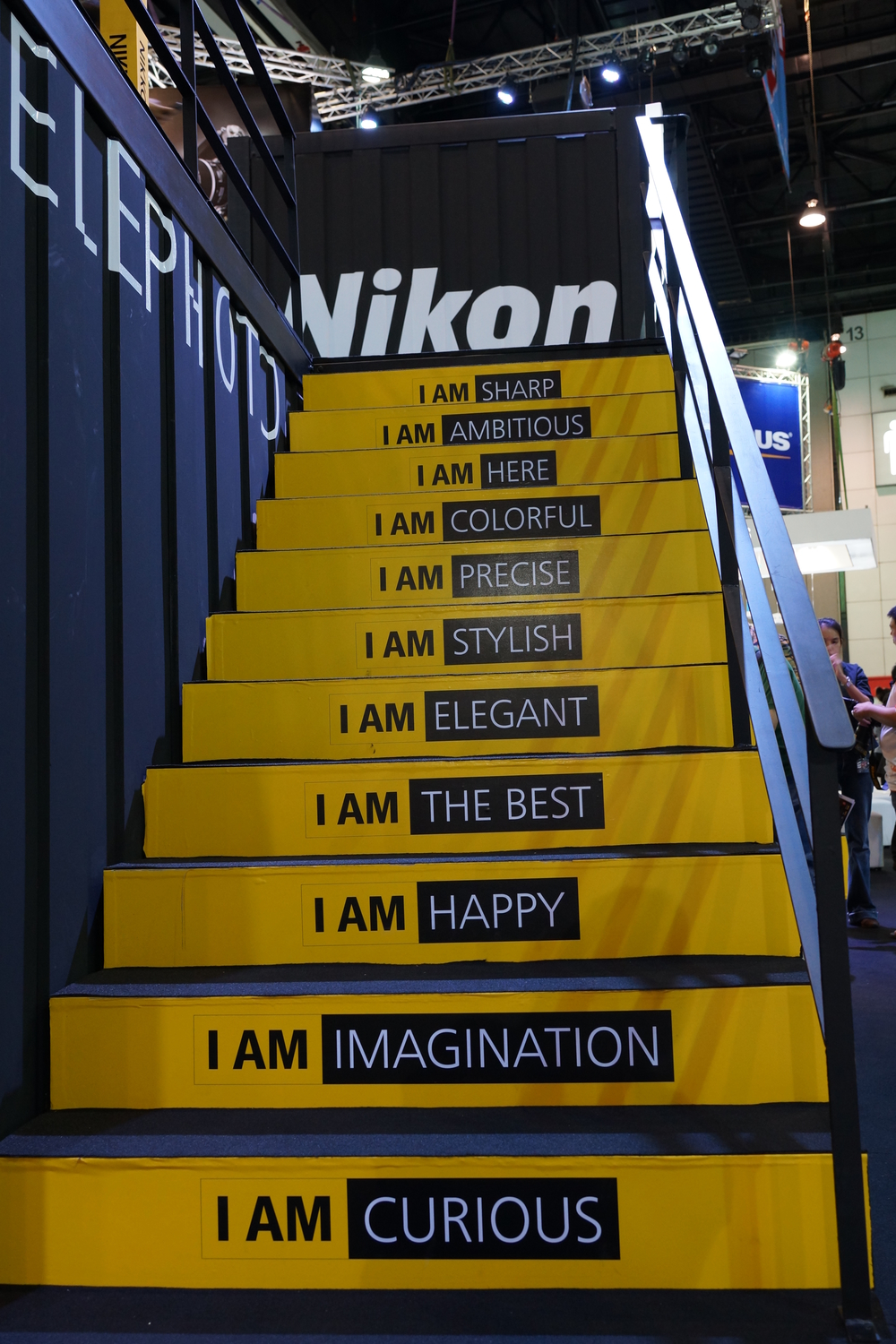 Stairs to Nikon heaven