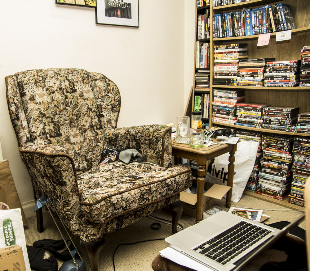 """The Work Station and """"Grampa armchair"""""""