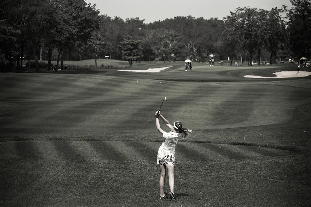 Golfer from the Fairway